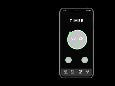 Countdown Timer App design timer app timer countdown timer figma dailyui apple app ux design ui design user interface