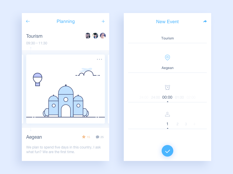 Planning rankings ui sketch messages icon data chat app