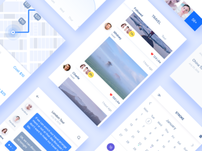 Expenditure/Stroke/Travel/Moment ui travel sketch moments messages icon calendar app