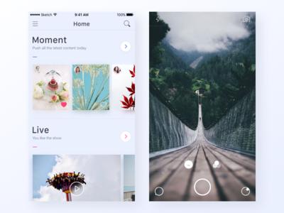 IF app moment live ui app