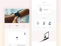 Dive into the watch industry - New Behance Case Study