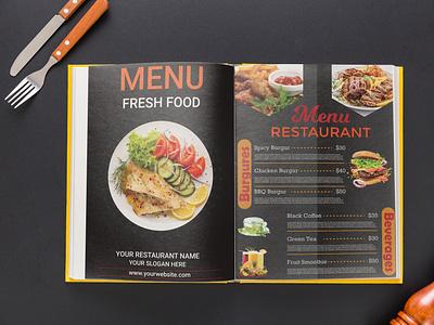 Restaurant Menu Flyer menu flyer restaurant menu design menu design graphic design