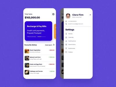 Payments app minimal framerx prototype motiondesign application android search cards feed app design ux ui mobile ios
