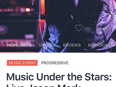 Event detail screen eventdetail eventsapp mobileapp eventscreen events
