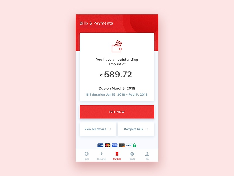 Vodafone Mobile Payment