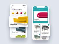 Furniture app listing