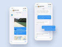 ios Messaging UI