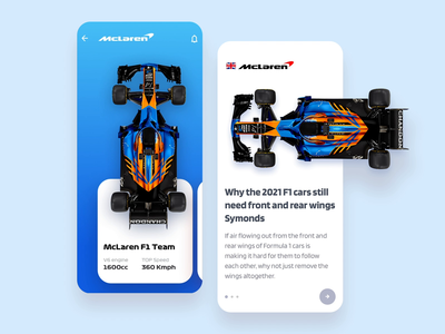 Formula 1 Concept Designs