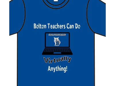 Bolton Virtual Learning Design illustration branding logo icon vector typography design
