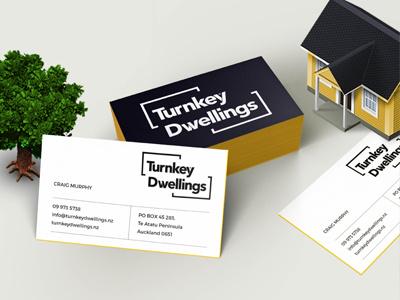 Turnkey Dwellings branding logo builder architects construction