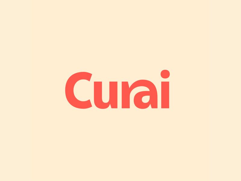 Curai Branding healthcare startup marketing logo design branding