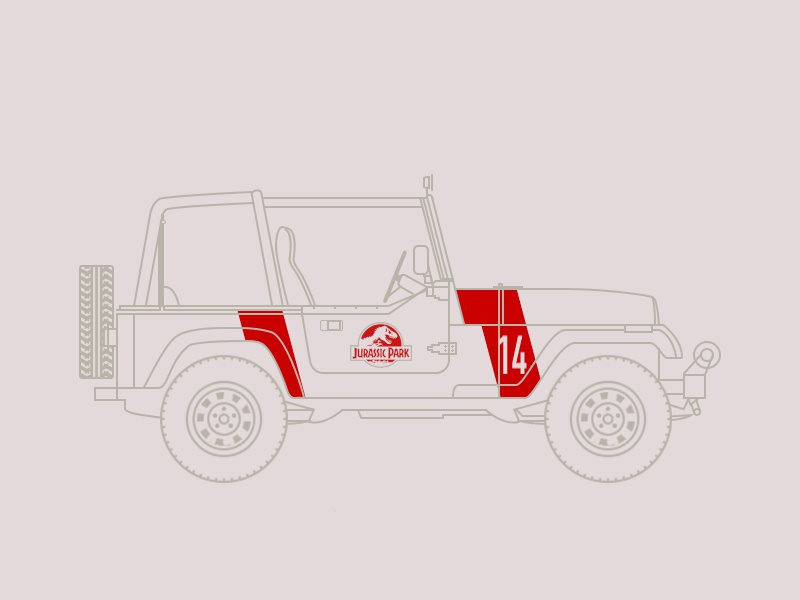 Jeep Jurassic Park | Search by Muzli