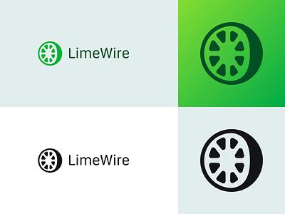 LimeWire Logo Redesign challenge rebound lime redesign logo