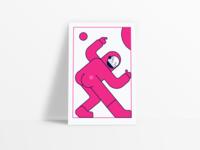 """Illustration — """"Nice Asstronaut"""""""