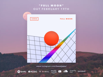 "New Single on the way ""Full Moon"" out Feb 19th"