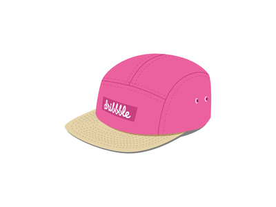 5-panel Cap dribbble playoff cap hat