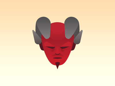 The Devil tarot gradient devil satan