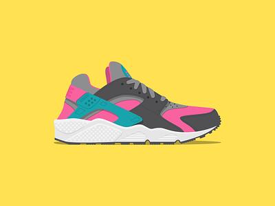 Nike Air Huarache Hyper Pink nike huarache sneaker