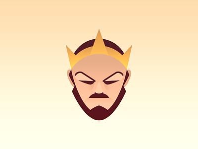 The Emperor gradient tarot emperor king