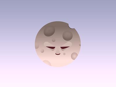 Moon gradient moon tarot