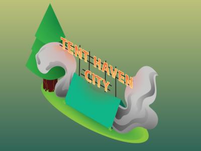 Smokin Tent