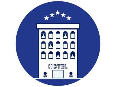 Hotel Illustration For Email