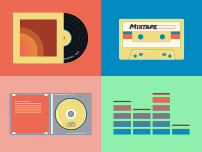 music media through the ages
