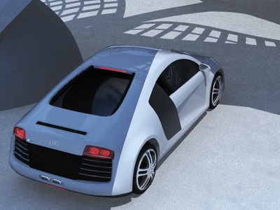 Speed architecture visualart speed 3d model 3d r8 audi
