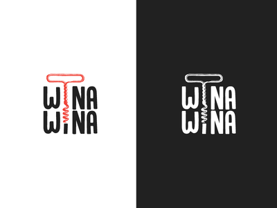 Bo to była wina wina wine logo wino