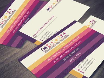 Chroma Business Card