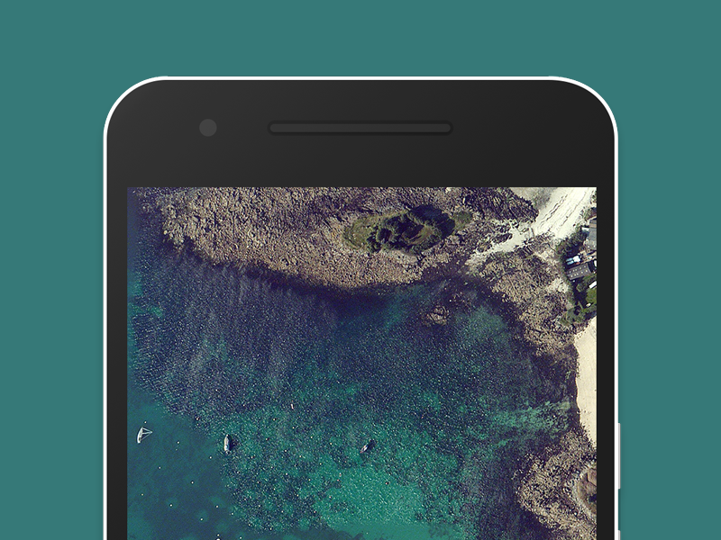 Google Nexus 6P Flat Mockup photoshop download free frame device mockup flat 6p nexus google