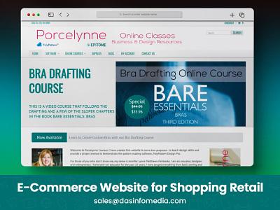 E-commerce Website for Shopping Retail logo design illustration logo branding animation 3d motion graphics ui typography mobileappdesign illustrator design graphic design