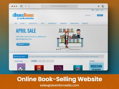 Online Book-Selling Website typography illustration motion graphics branding animation 3d logo ui design mobileappdesign illustrator graphic design logo design