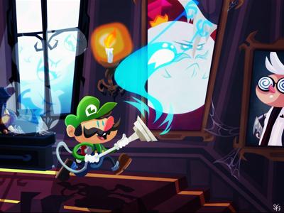 Luigis Mansion By Sam Filstrup On Dribbble