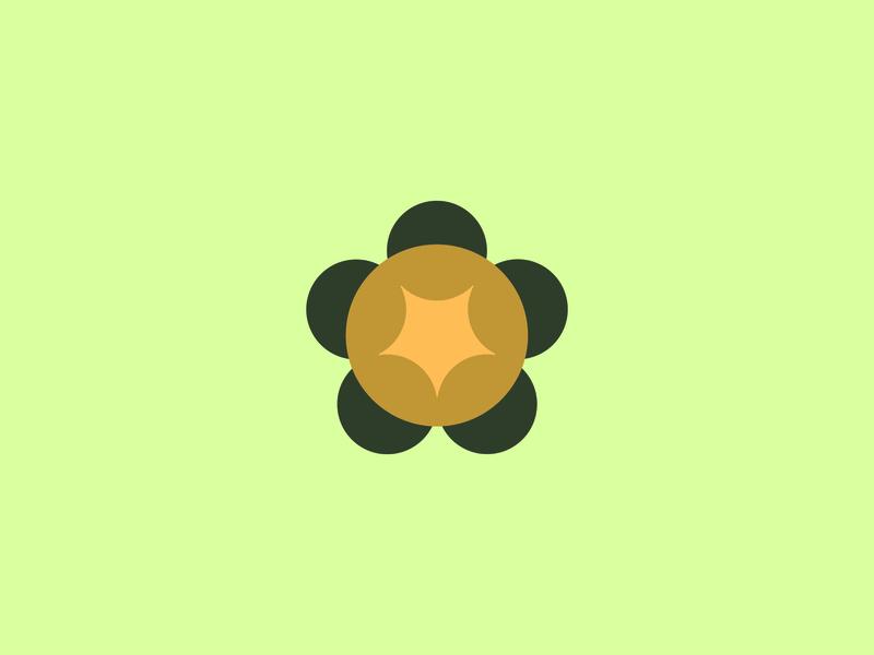 Turtle modern simple branding agency green turtle illustration design animal logo
