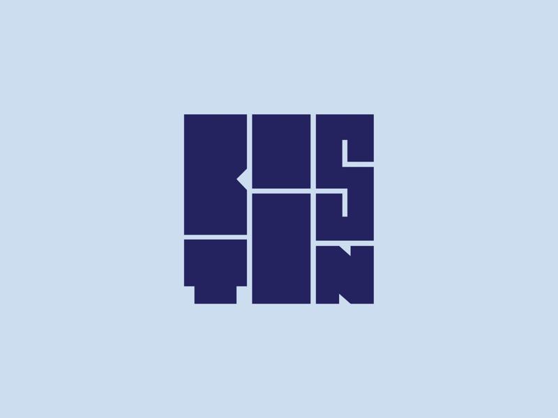 Boston Squared v2a thicc thick square cube massachusetts city geometric lettering type logo boston