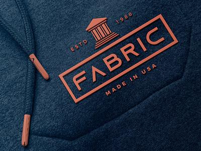 Rubber Logo on Fabric Mockup branding motion graphics graphic design animation ui illustration design 80s logo text light designposter 3d text 3d logo rubber