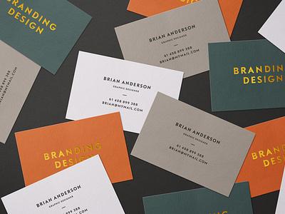 Scattered Business Cards Mockup branding motion graphics graphic design animation ui illustration design 80s logo text logo light designposter 3d text 3d card card business business brochure scatted