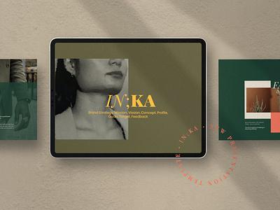 Iconic - Lookbook Fashion graphic design slides pitch deck portfolio report annual clean modern minimal template branding illustration design designposter google slides keynote presentation powerpoint fashion lookbook