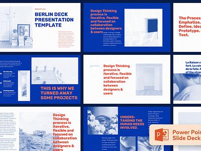 Berlin - Presentation Template lookbook events report annual report annual web maintance web development multipurpose pitch deck google slides presentation vector ui keynote powerpoint graphic design branding illustration design designposter