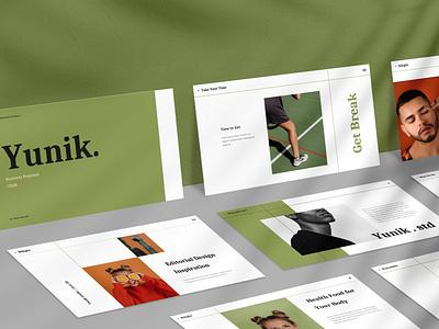 Yunik - Creative blog shop donation events purpose multipurpose web development pitch pitch deck google slides presentation ui vector keynote powerpoint graphic design branding illustration design designposter