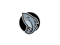 Shark exploration branding symbol identity brand shark week designs logos design mark logo shark