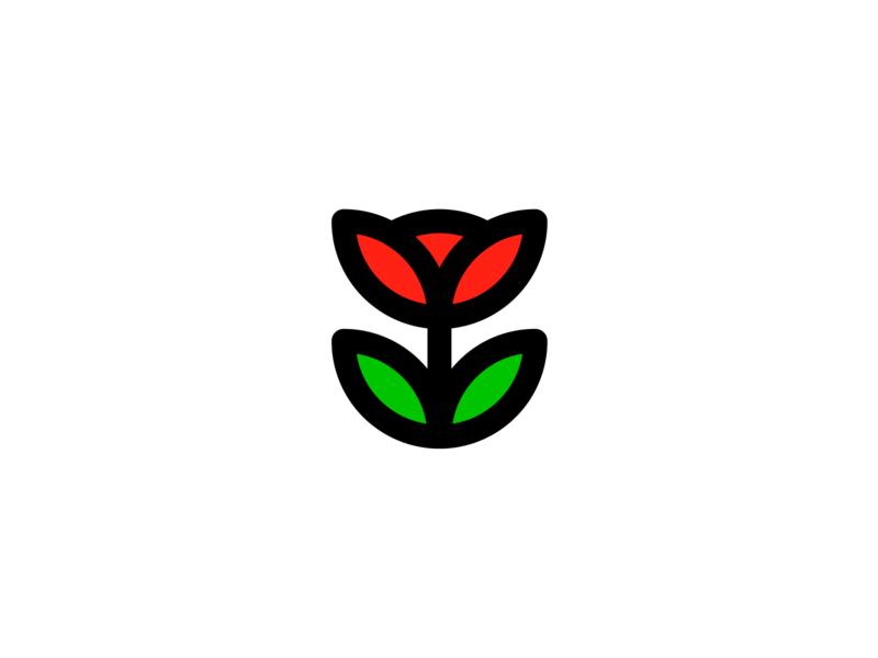 Rose Logomark symbol identity mark brand roses rose logo rose wordmark monogram logo mark design logo marks logo design logo icon exploration branding brand identity design brand identity