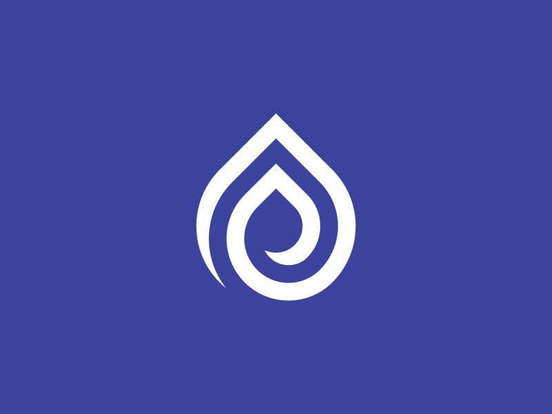 Raindrop Logo branding brand sale for designs design logos logo raindrop drop rain