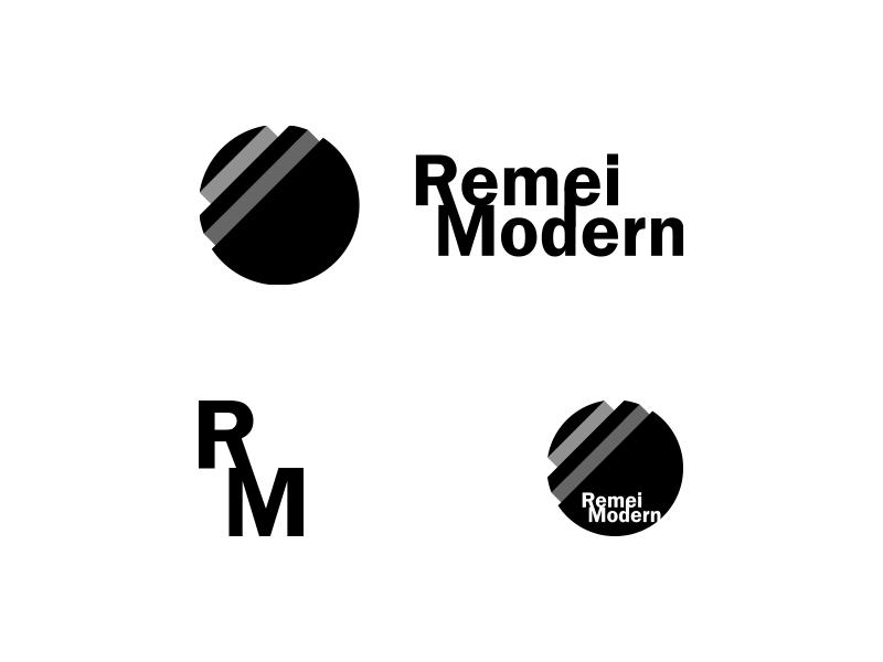 Remei Modern Logo Proposal identity branding brand designs design logos logo modern remei