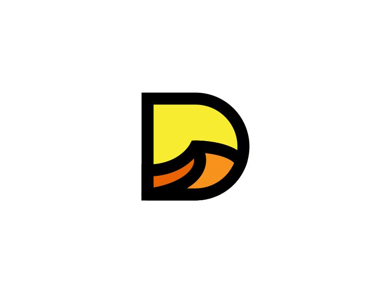 Dune Logo brand dunes identity branding designs design logos logo dune