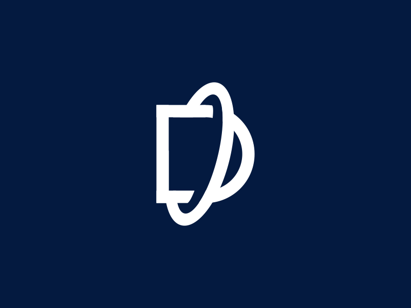 Destiny sale identity brand designs design letter logos logo d planet
