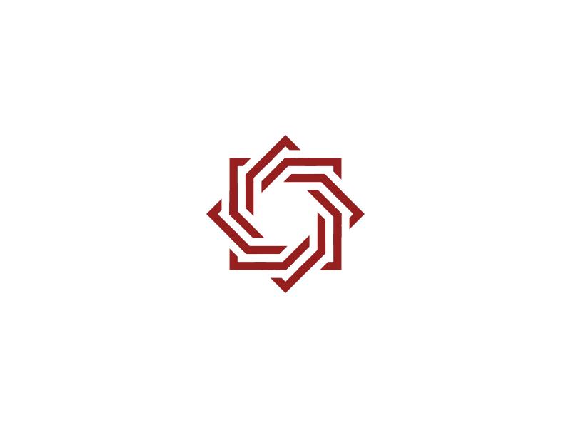 Rose Logo icon symbol mark brand square designs design logos logo rose