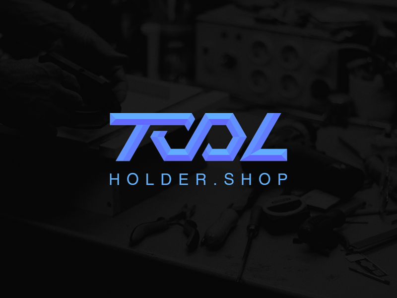 Tool Holder Shop Inc. Branding branding brand designs design logos logo shop holder tool
