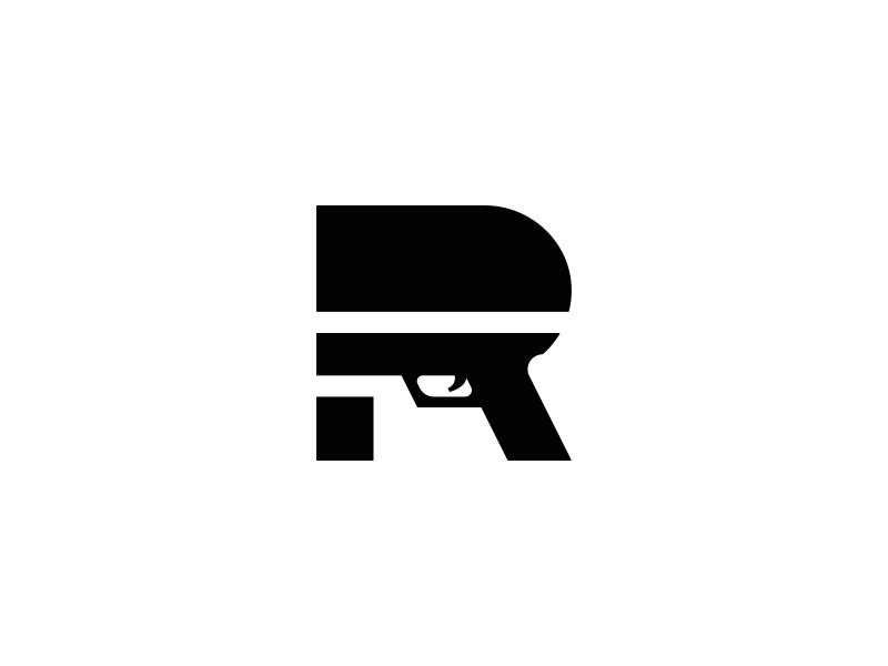 Ryan Glock Logo symbol mark branding letter designs design logos logo gun r glock ryan